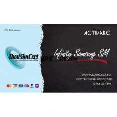 "Activare Infinity Samsung ""SM"" pentru Infinity Box / Dongle"