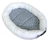 Cumpara ieftin Cuib bebelusi Baby Nest Deseda Stelute gri
