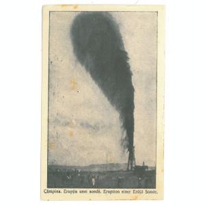 64 - CAMPINA, Prahova, oil well, Romania - old postcard - unused