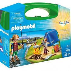 Playmobil Family Fun - Set portabil camping