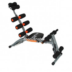 Aparat Multifunctional Fitness si Abdomen Golden Star Six Pack Care