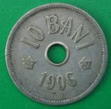 10 bani 1906, J, România