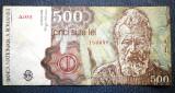 Seria A.0001 --> Romania 500 Lei 1991