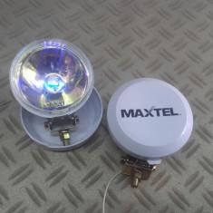 Proiectoare ceata Maxtel rotunde cu capac de protectie