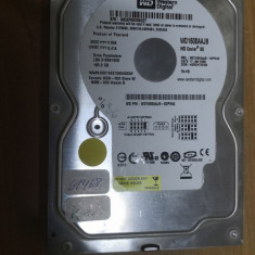 HDD PC Western Digital 160GB IDE 86% viata #61468RAZ