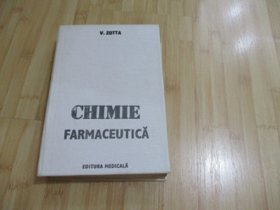 V. ZOTTA--CHIMIE FARMACEUTICA - 1985 foto