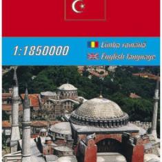Harta rutiera Turcia |