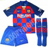 Compleu Echipament FOTBAL pt. copii 5-15 ani FC BARCELONA MESSI model 2019-2020