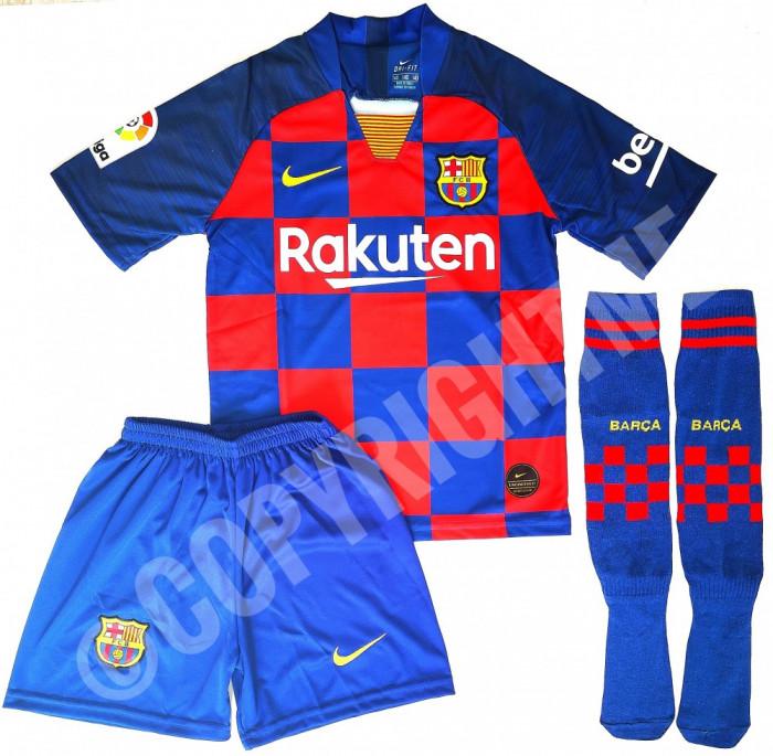 Compleu Echipament fotbal pentru copii 7-8 ani Messi model 2020