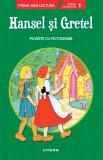 Hansel și Gretel. Poveste cu pictograme. Citesc cu ajutor (nivelul 1)