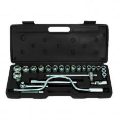 Set chei tubulare Cr-V Gadget, 1/2 inch, 8-30 mm, 24 piese, cutie depozitare inclusa