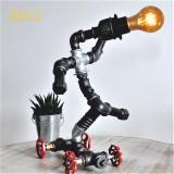 Cumpara ieftin Lampa skateboard steampunkdesigncj, lampa steampunk, corp de iluminat