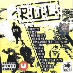 CD R.U.L. ,hip hop original: Parazitii, Puya, Bitza, E.M.I.L.