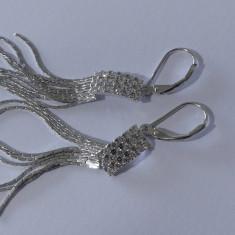 Cercei argint cu zirconii -164