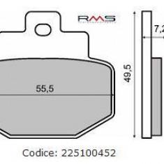 Placute frana spate Piaggio Hexagon GTX 125/180/250 Cod Produs: MX_NEW 1497002OL