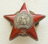 u755 URSS RUSIA 1941 1945 ORDINUL STEAUA ROSIE ARGINT EMAILAT