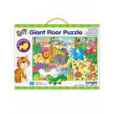 Giant Floor Puzzle: Jungla, 30 piese, 3 ani+, Galt
