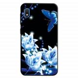 Cumpara ieftin Carcasa Husa Samsung Galaxy A10 model Night Garden, Antisoc + Folie sticla securizata Samsung Galaxy A10 Tempered Glass Viceversa