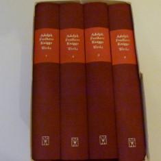 Adolph freiherr knigge - 4 vol.