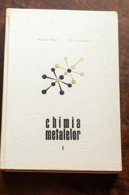 Chimia metalelor - Raluca Ripan, Ion Ceteanu foto