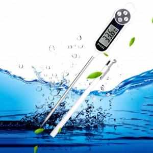 Termometru digital alimentar de insertie cu tija Pufo, afisaj LCD, 4 butoane si...