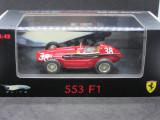 Macheta Ferrari 553 F1 Hotwheels Elite 1:43