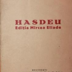 HASDEU EDITIA MIRCEA ELIADE - D . MURARASU