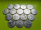 Lot 16 x 25 cents Quarter dollar Statele Unite Americii USA SUA sferturi dolar, America de Nord