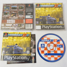 Joc consola Sony Playstation 1 PS1 PS One - Formula 1 97, Single player, Curse auto-moto, Toate varstele