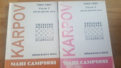 Mari campioni 1, 2 - Karpov foto