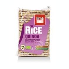 Rondele de Orez Expandate cu Quinoa Bio Lima 130gr Cod: 5411788044295
