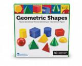 Corpuri geometrice din plastic - 10 piese, Learning Resources