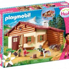 Playmobil Heidi - Heidi si cabana din munti