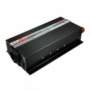 Invertor KEMOT 24 V DC/230V AC, putere maxima 1000W