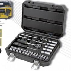 """Trusa tubulare 25Pcs, 1/4"""" 4-14mm CrV TMP, TopMaster"""