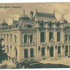 2410 - CRAIOVA, Bank, Romania - old postcard, CENSOR - used - 1918, Circulata, Printata
