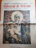 ziarul universul de craciun 25 decembrie 1907-multe art. despre craciun,colinde