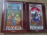 FILOCALIA VOL.1-2 VERSIUNE IN LIMBA ROMANA A ANTOLOGIEI IN LIMBA GREACA PUBLICATA LA VENETIA IN 1782-DE SFANTUL