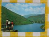 Lacul de acumulare Sadu V - vedere circulata 1965, Fotografie