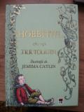 J. R. R. TOLKIEN - HOBBITUL ( ilustratii Jemima Catlin ) - rao 2013