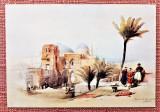 Ierusalim, Biserica Sfantului Mormant - Dupa o litografie de David Roberts, Israel, Necirculata, Printata