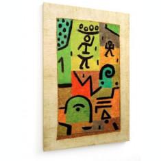 Tablou pe panza (canvas) - Paul Klee - Lemon Harvest - 1937