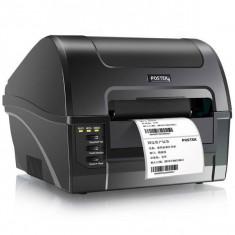 Imprimanta termica etichete iUni Postek c168, Retea, USB, 203Dpi