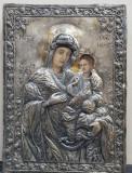 Maica Domnului cu Pruncul, Icoana Romaneasca cu ferecatura din argint, 1835