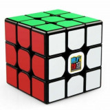 Cub Rubik Magnetic, Moyu MofangJiao RS3M 2020, Black, 4-6 ani