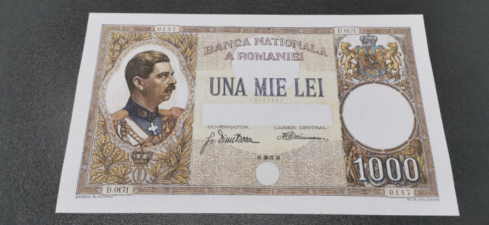 România 1000 Lei 1934 REPLICA