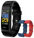 Bratara Fitness Media Tech Active Band MT859, Bluetooth, rezistenta la apa, monitorizare dinamica puls, Android, iOS, intrari apeluri