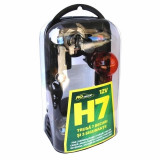 Trusa 7 becuri si 3 sigurante auto Ro Group, H7, 12V, RoGroup