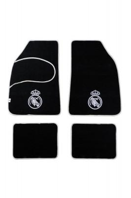 Set covorase auto din mocheta Real Madrid model universal , set de 4 bucati , set de 4 bucati foto