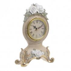 Ceas de masa White Rose 23.5 cm